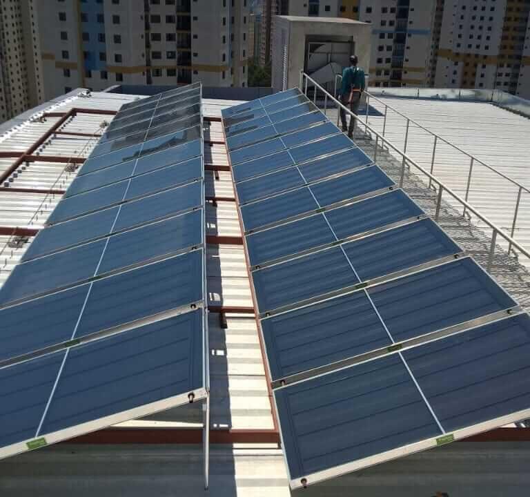 Painel solar de grande porte 2 Topema Energia