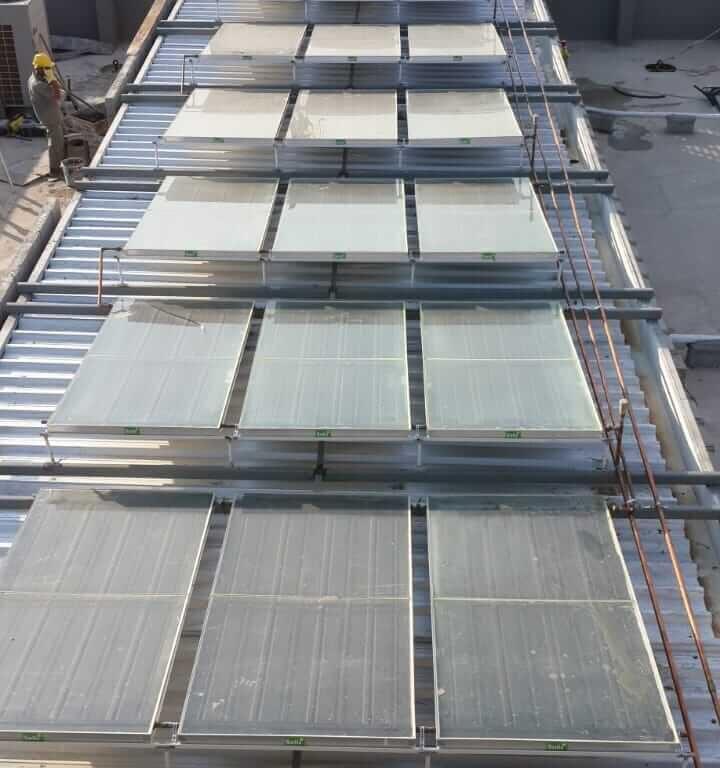 Painel solar de grande porte 3 Topema Energia